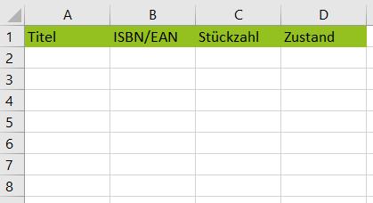 Excel Beispiel Auflistung